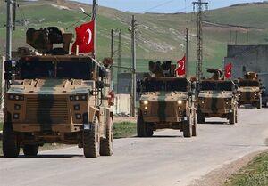 ورود کاروان ترکیه متشکل از ۱۰۰ خودروی حامل توپ و تانک به ادلب