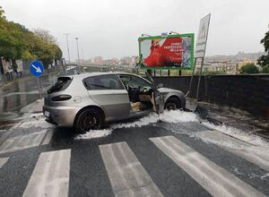 عکس/ ایتالیا پس از باران