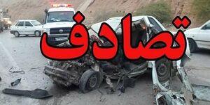 تصادف زنجیرهای ۳۰ خودرو در اتوبان کرج-قزوین +فیلم