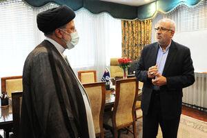 عکس/ بازدید سرزده رئیس جمهور از وزارت نفت