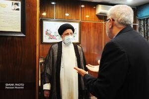 فیلم/ غافلگیری وزیر نفت از حضور سرزده رئیسی
