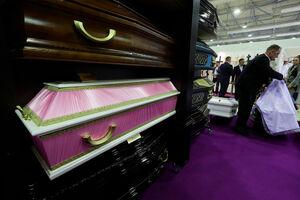 عکس/ نمایشگاه خدمات تشییع جنازه