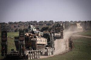 ورود کاروان نظامی جدید ترکیه به ادلب