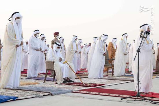 فیلم/ نماز باران در قطر