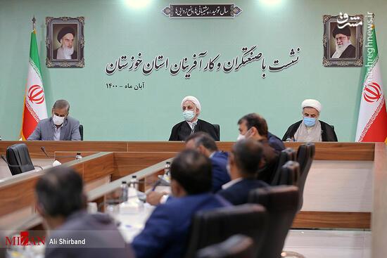 فیلم/ گفتوگوی بیپرده صنعتگران خوزستان با اژهای