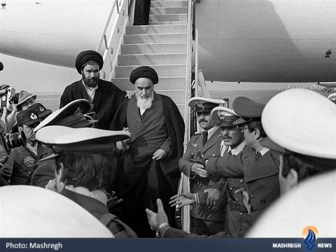 خاطرات آيتالله خامنهاي از استقبال امام(ره) + تصاوير
