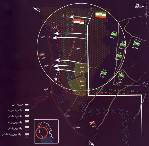 آنچه باید درباره عملیات «بدر» بدانیم+عکس و نقشه