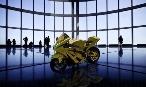 تصاویر/سریعترین موتورسیکلت الکتریکی جهان