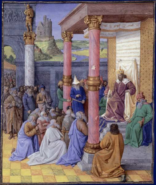 بخت النصر، تأدیب خداوند بر سر یهود