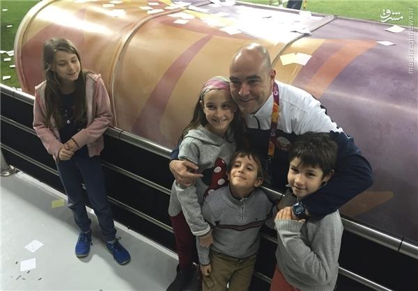 اقدام جالب سرمربی قطر پس از بازی با ایران +عکس