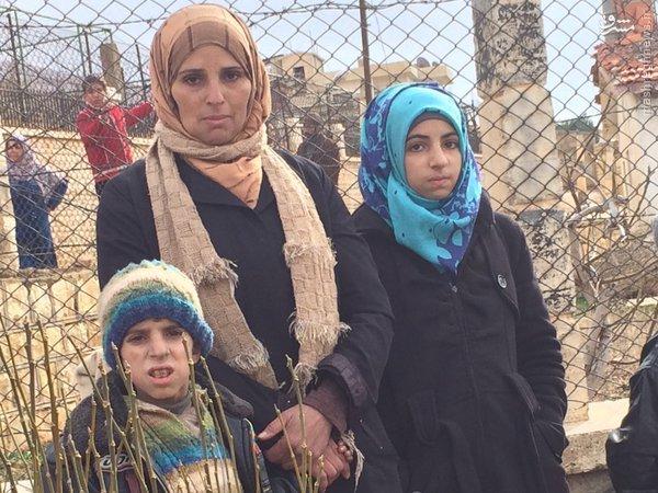 فرار غیر نظامیان از مضایا+تصاویر