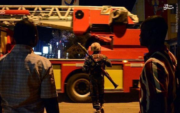 عوامل حمله خونین القاعده به هتلی در بورکینافوسو+تصاویر