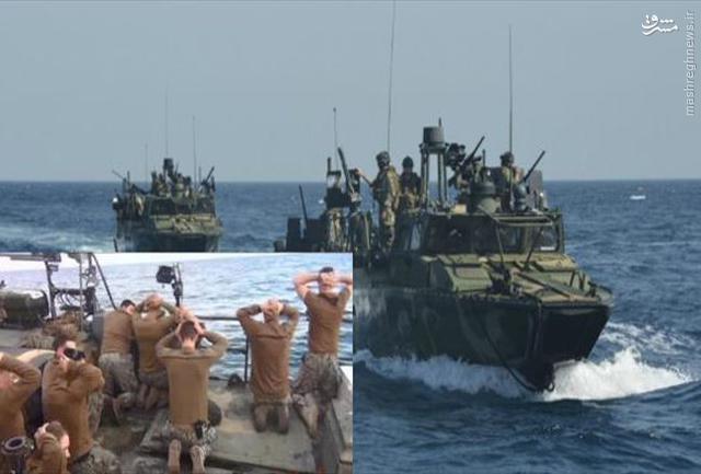 ایران به دنیا نشان داد که میتوان ارتش آمریکا را تحقیر کرد /// ایران در قضیه ملوانان آمریکایی، قدرتنمایی کرد /// در حال انجام ///