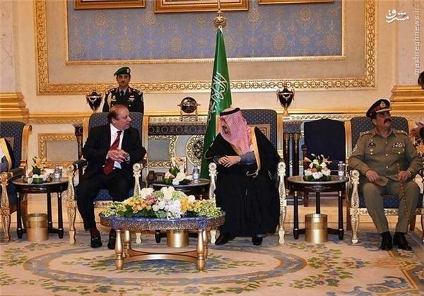 در دیدار نواز شریف و پادشاه عربستان چه گذشت؟