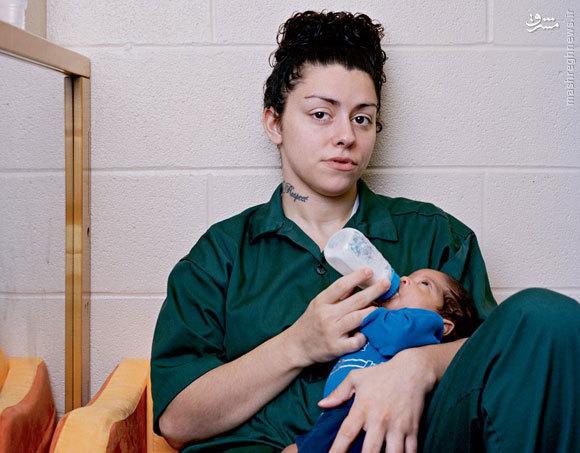 در زندانهای زنان آمریکا چه میگذرد +عکس