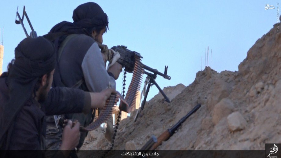 نبردهای دیرالزور به روایت داعش+تصاویر(+18)