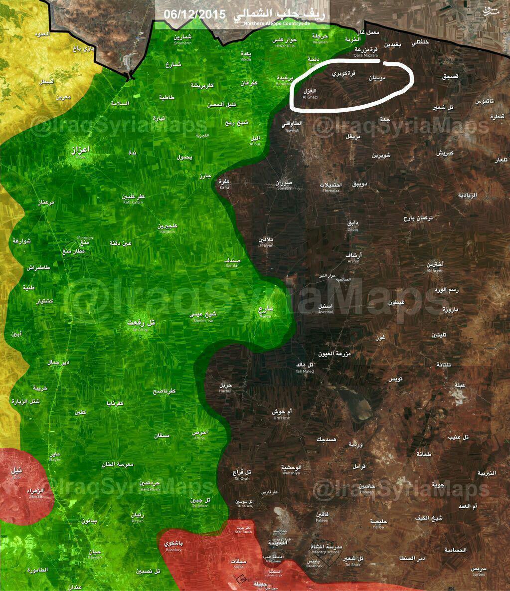 درگیریهای خونین داعش و رقبا در شمال حلب+تصاویر