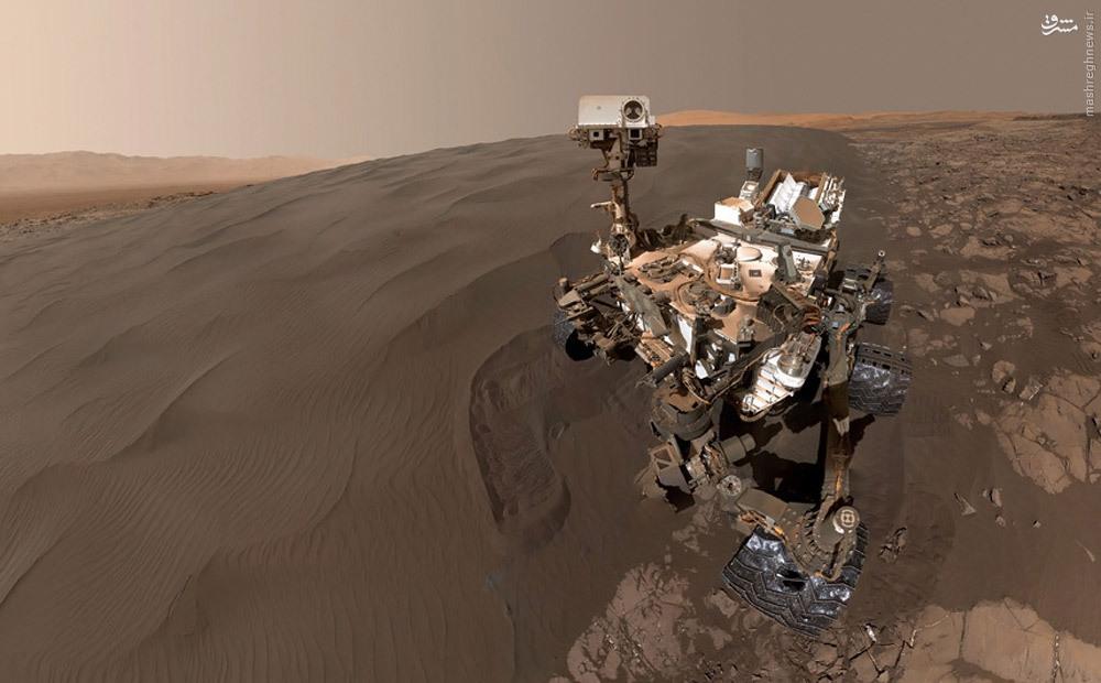 عکس جدید ناسا از سطح کره مریخ