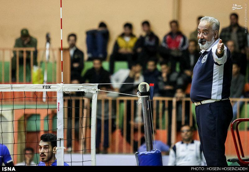 عکس/ دقت عجیب داور در والیبال