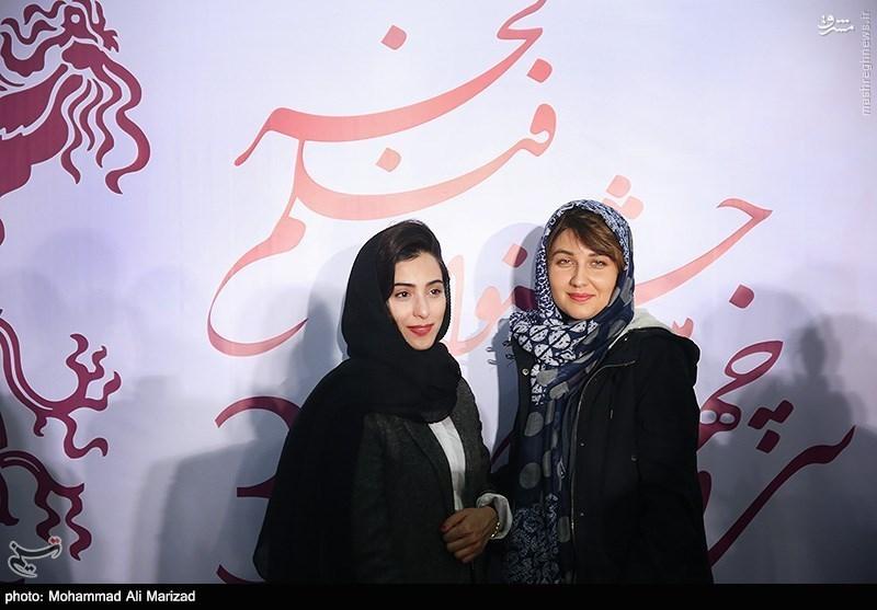 عکس/ بازیگر دورگه سریال کیمیا در جشنواره
