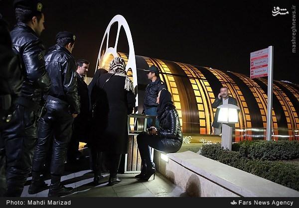 حضور گشت ارشاد و شهرزادی ها در حاشیه کاخ جشنواره +عکس