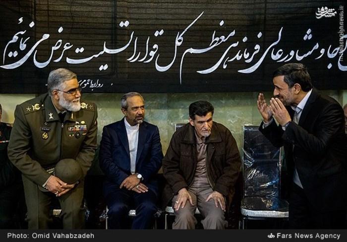 عکس/ واکنش رئیس دفتر روحانی در برابر احمدی نژاد