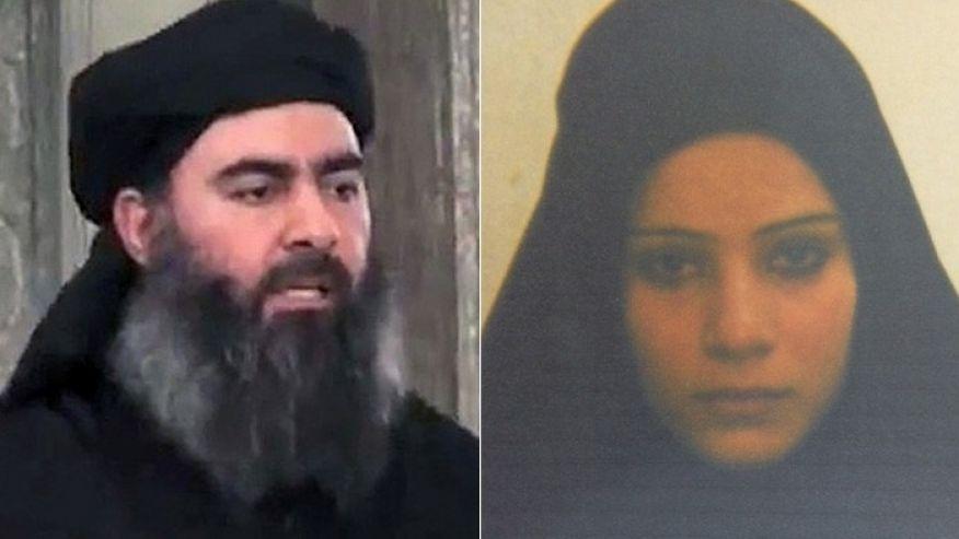 خواهرزن خلیفه خودخوانده داعش در زندان کردستان عراق +عکس