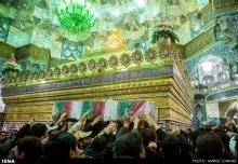 عکس/ تشییع چهار شهید مدافع حرم در قم