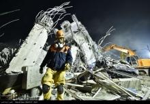 عکس/ زلزله 6/4 ریشتری در جنوب تایوان