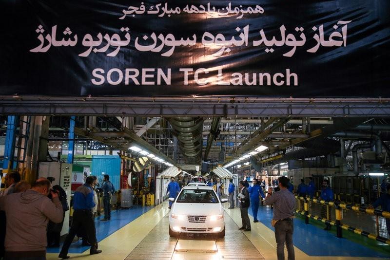 سورن توربو شارژ رونمایی شد؛ تولید انبوه موتور توربو شارژ در ایران خودرو