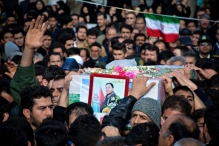 عکس/ تشییع پیکر شهید مدافع حرم در خمین