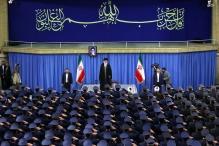 عکس/ دیدار جمعى از فرماندهان نیروى هوایى ارتش با رهبر انقلاب