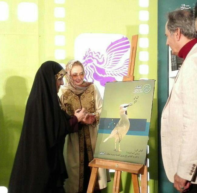خانمی مسئولی که زینتالمجالس اصلاحطلبان در مراسمات هنری و سیاسی است + تصاویر