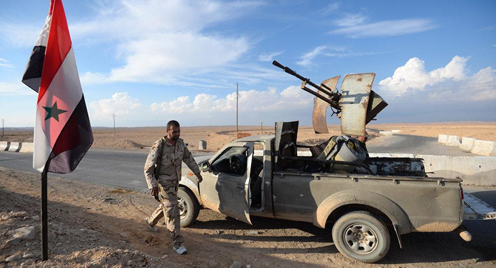 بررسی عملیاتهای نظامی ارتش سوریه و نیروی هوایی روسیه در صحنه میدانی+نقشه