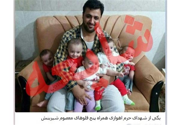 شایعه شهادت پدر پنج قلوها در سوریه +عکس