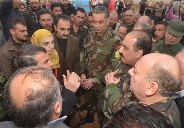 نمایندگان اسد به «نبل» و «الزهراء» رفتند +عکس