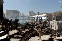 عکس/ جنگندههای سعودی یک مدرسه را بمباران کردند
