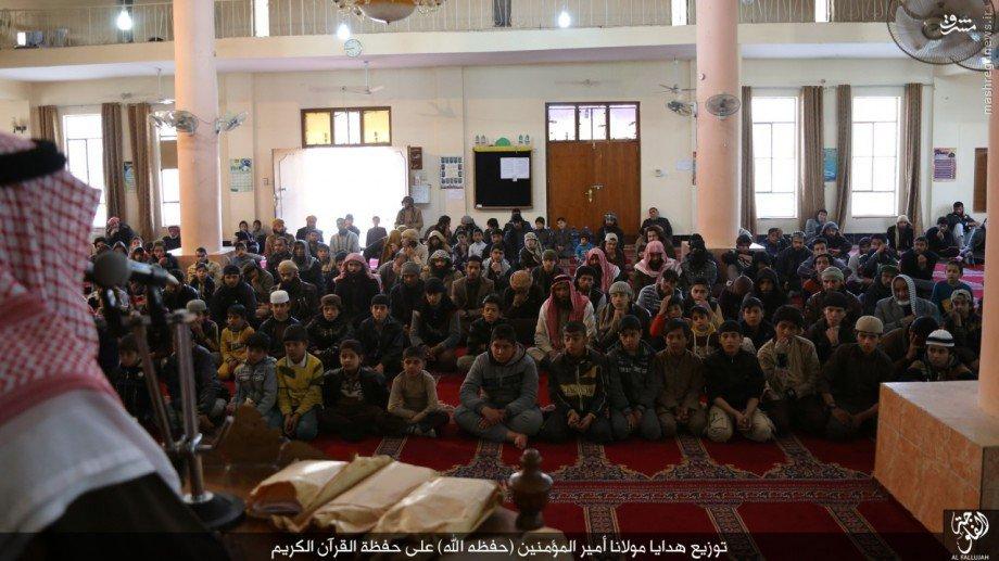 حضور ابوبکر البغدادی در فلوجه +عکس