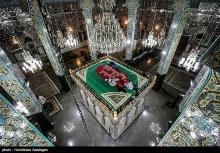 عکس/ حرم حضرت زینب(س) به مناسبت ولادت ایشان