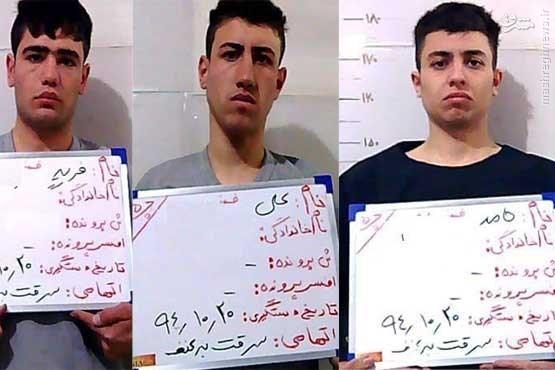 محاصره 3 زورگیر در درمانگاه +عکس