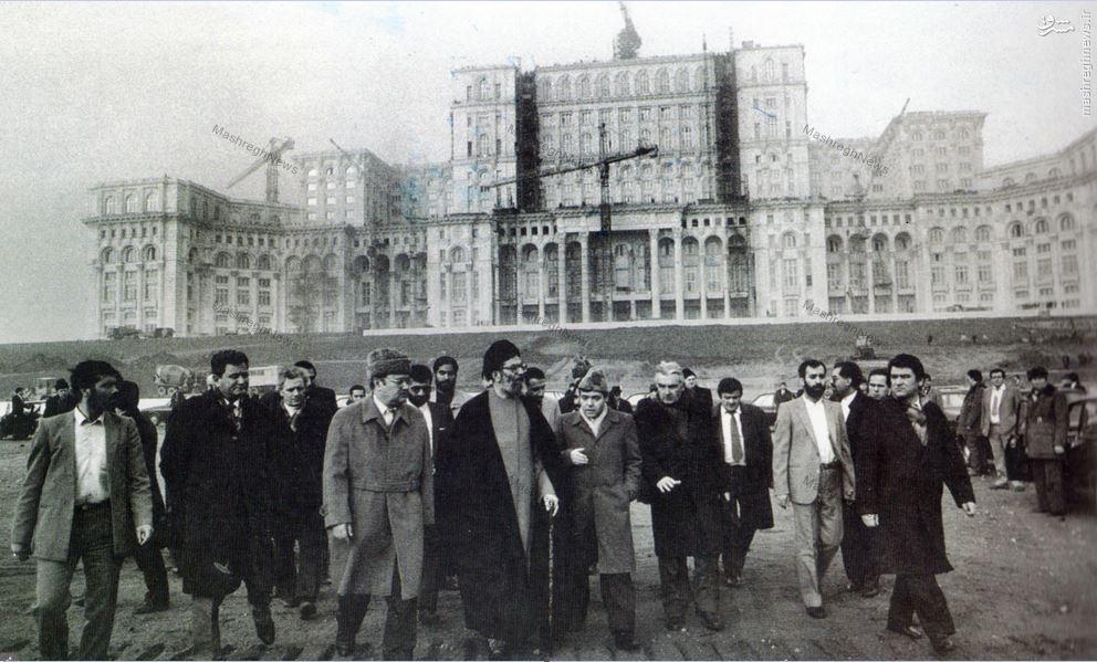 عکس/ آیت الله خامنهای در یوگسلاوی