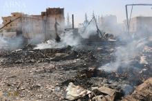 عکس/ بمباران صنعاء توسط جنگندههای سعودی