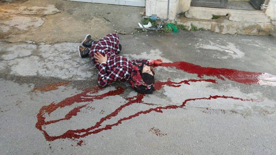 تماشای جاندادن دختر فلسطینی از سوی نظامیان صهیونیست + عکس