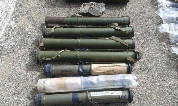 تسلیحات اهدایی اسراییل به تروریستها در جنوب سوریه+تصاویر