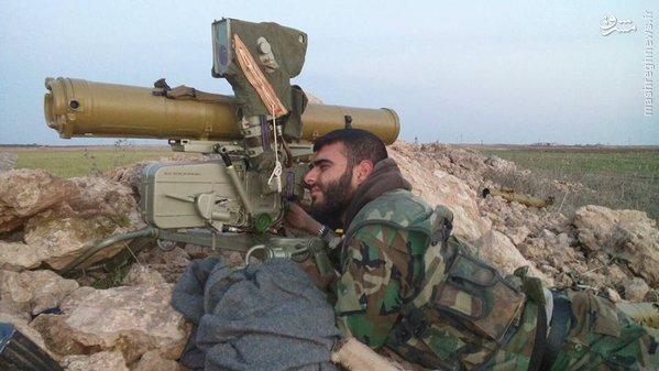 مستشاران نظامی روس در فرودگاه کویرس سوریه+تصویر