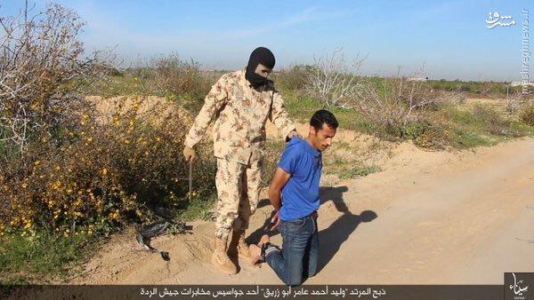 اعدام میدانی دو مصری توسط داعش+تصاویر