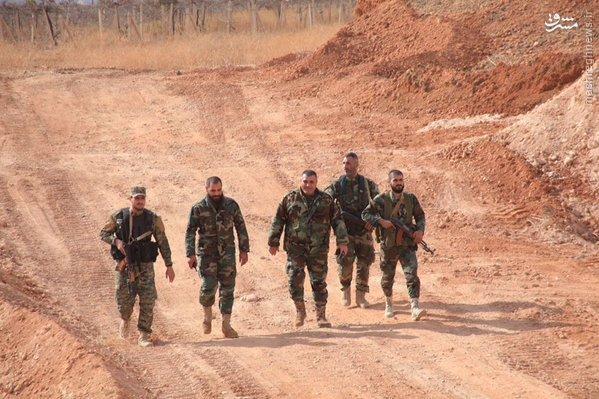 پیشروی ارتش سوریه در شرق حلب+تصاویر