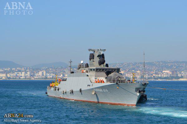 ورود کشتیهای موشک انداز روسیه به بنادر شمالی سوریه + عکس