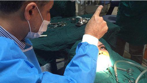جراحی فک با روش هیپنوتیزم در مشهد+عکس