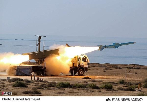 موشکهای کروز ساحل به دریا
